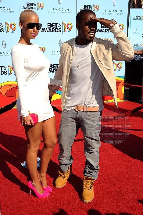 Amber and Kanye